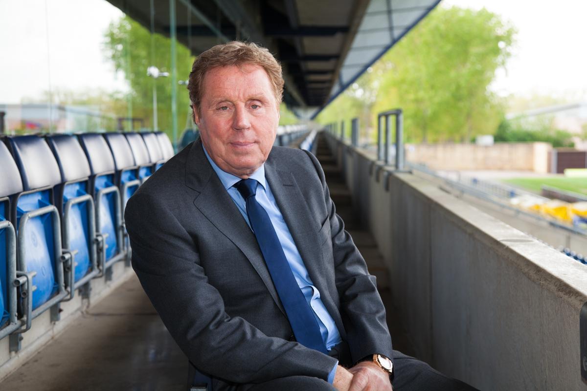 Harry Redknapp football manager - portrait