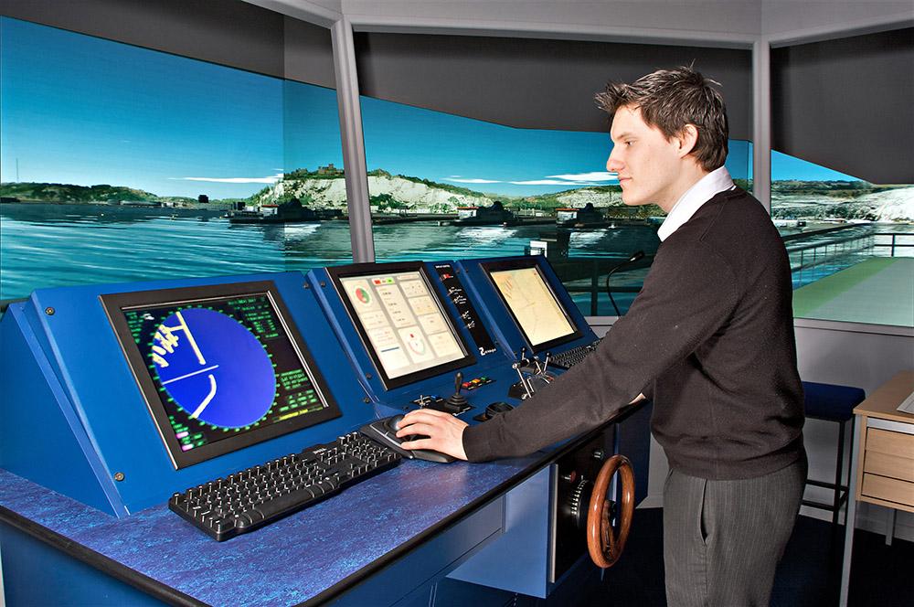Ship simulator HR Wallingford -Corporate photo
