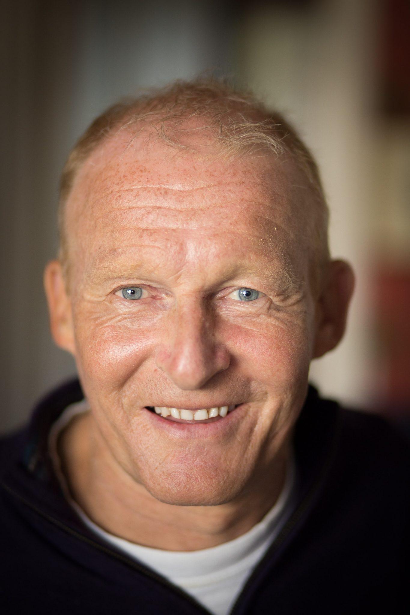 David Constantine MBE Founder Motivation - portrait photograph
