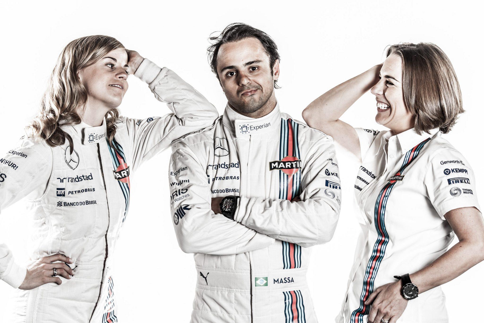 Willimas F1 portrait photography