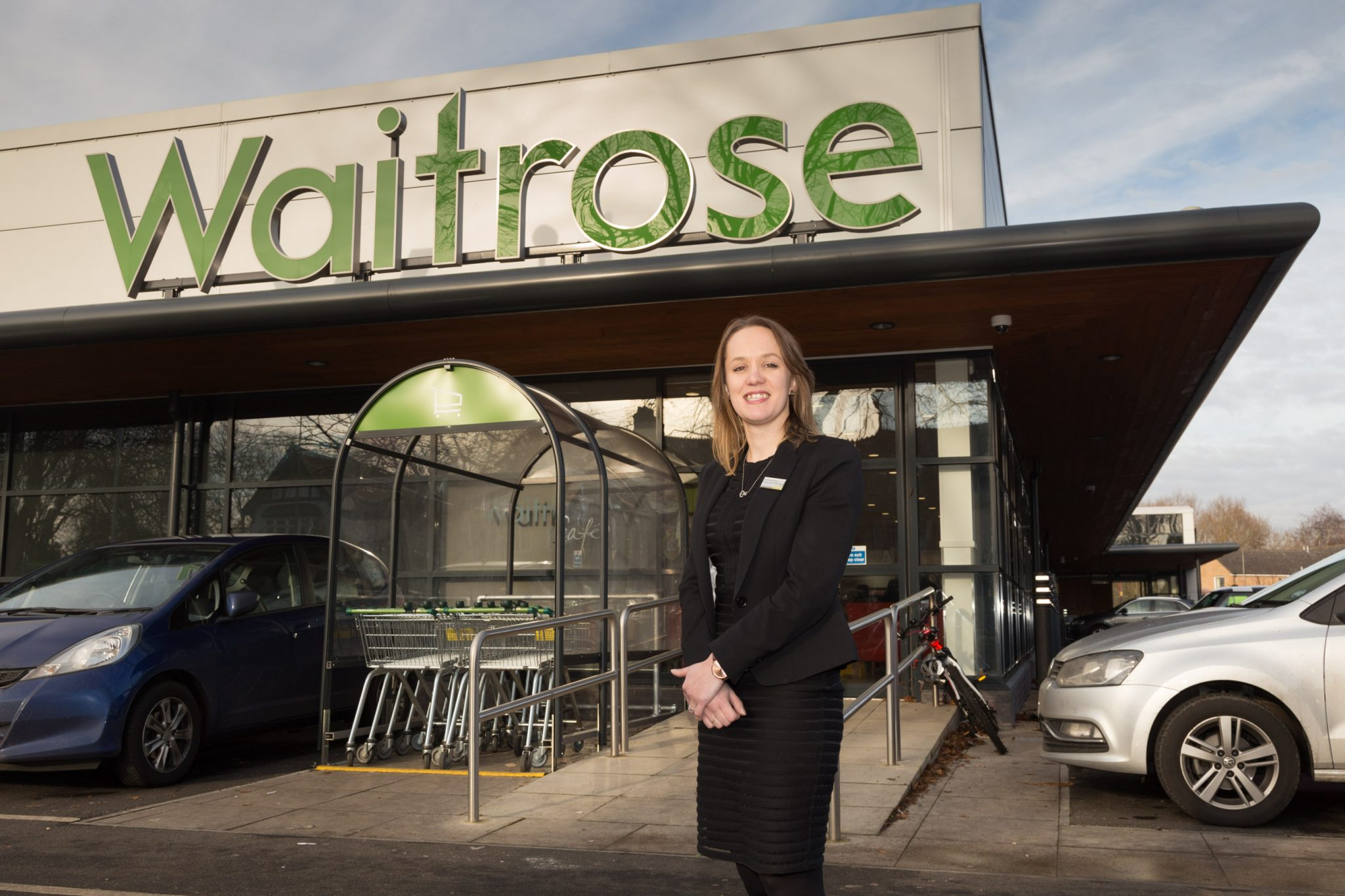 Waitrose Manager portrait photo