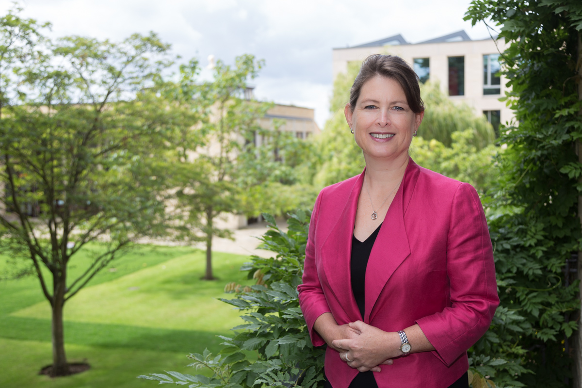 Helen King, Principal St Anne's College Oxford - portrait photography