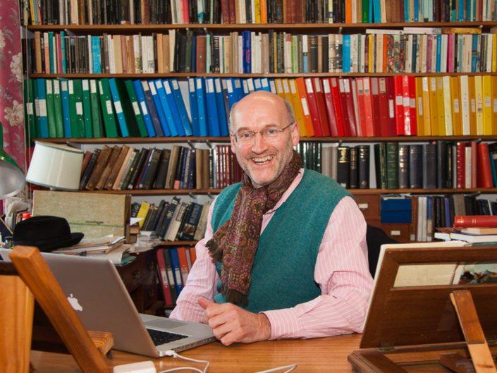 Somerville College Oxford Fellow portrait photography - academic
